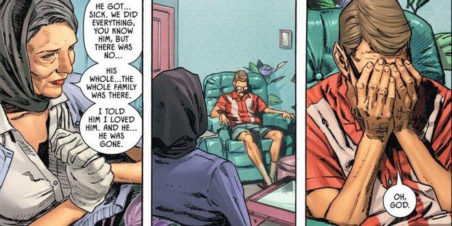 Cái kết bất ngờ dành cho cặp đối thủ lừng danh nhà DC: Batman qua đời vì ốm, Joker an hưởng tuổi già ở viện dưỡng lão - Ảnh 2.