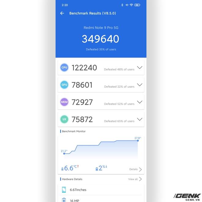Đánh giá hiệu năng chơi game trên Redmi Note 9 Pro 5G: Snapdragon 750 5G thể hiện ra sao trước PUBG, LMHT: Tốc Chiến và Liên Quân Mobile? - Ảnh 2.