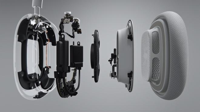 Apple ra mắt AirPods Max: Headphone trùm đầu, có núm xoay giống Apple Watch, giá 549 USD - Ảnh 5.