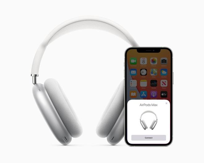 Apple ra mắt AirPods Max: Headphone trùm đầu, có núm xoay giống Apple Watch, giá 549 USD - Ảnh 6.