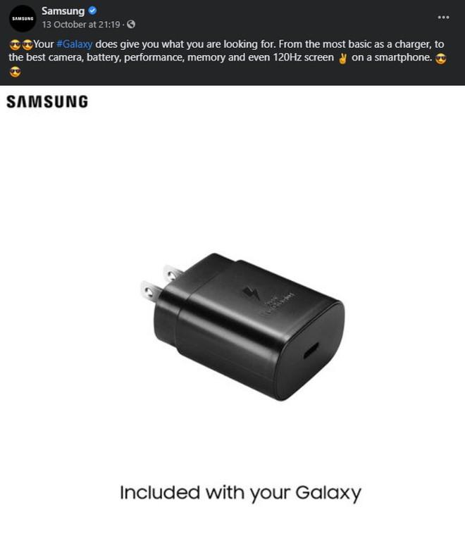 Lộ tài liệu xác nhận tất cả các mẫu Samsung Galaxy S21 sẽ không được bán kèm củ sạc - Ảnh 2.