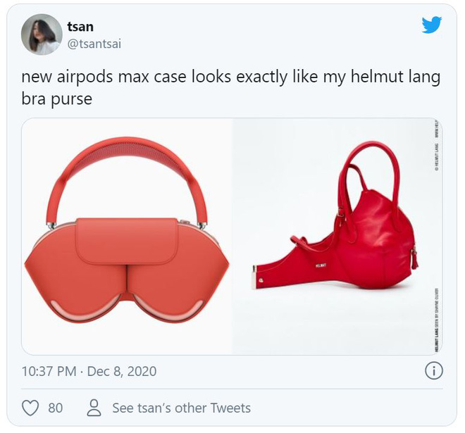 AirPods Max vừa ra mắt đã bị chế meme tơi tả bởi chiếc case quá giống áo ngực phụ nữ - Ảnh 4.