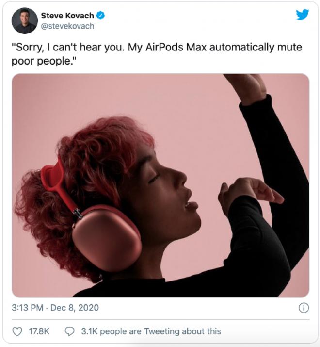 AirPods Max vừa ra mắt đã bị chế meme tơi tả bởi chiếc case quá giống áo ngực phụ nữ - Ảnh 10.