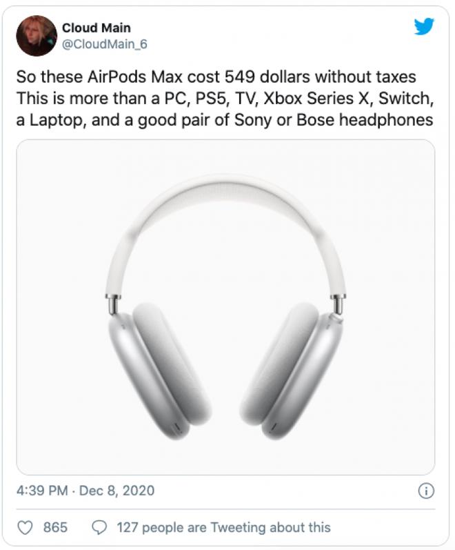 AirPods Max vừa ra mắt đã bị chế meme tơi tả bởi chiếc case quá giống áo ngực phụ nữ - Ảnh 8.