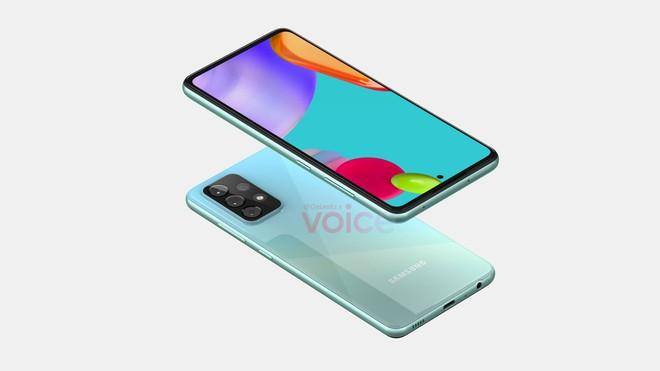 Galaxy A52 5G lộ ảnh render: Thiết kế gần như không đổi, cụm camera to và lồi hơn, ra mắt trong tháng 12 - Ảnh 2.