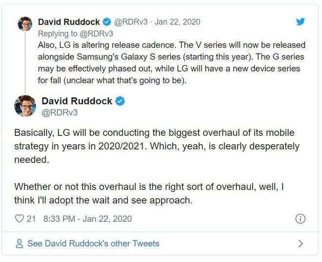 Ảnh quảng cáo cho thấy LG V60 ThinQ sẽ có 4 camera và pin lên tới 5000mAh - Ảnh 2.