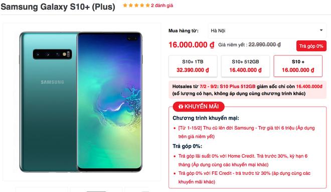 Đón đầu Galaxy S20, Galaxy S10 sập giá chỉ còn 10 triệu đồng - Ảnh 1.