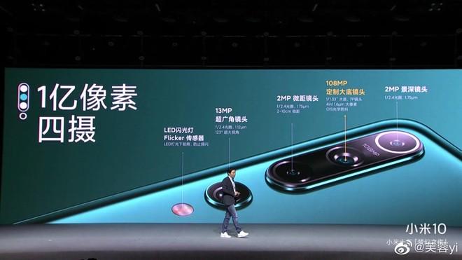 Xiaomi Mi 10 và Mi 10 Pro ra mắt: Snapdragon 865, camera chính 108MP dẫn đầu DxOMark, màn hình 90Hz, giá từ 13.3 triệu đồng - Ảnh 6.
