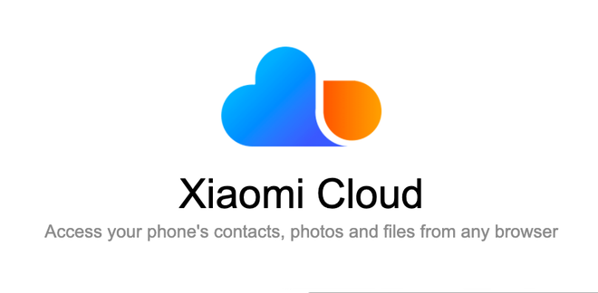 Xiaomi launches the MiCloud data storage package for a lifetime