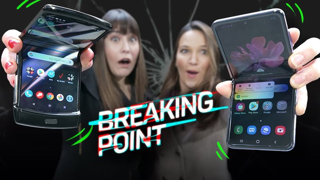 Thử nghiệm thả rơi Galaxy Z Flip và Motorola Razr: Đâu là chiếc smartphone mong manh nhất? - Ảnh 1.