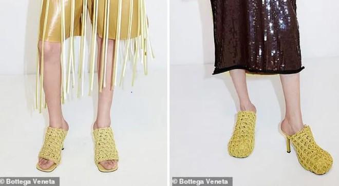 Bộ sưu tập này bao gồm rất nhiều mẫu giày với kiểu dáng khác nhau, đa số dành cho chị em phụ nữ, nhưng tất cả đều có điểm chung là họa tiết mì tôm quen thuộc.