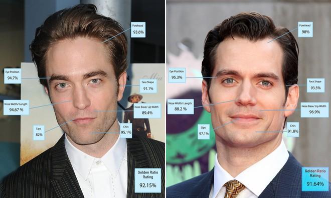 """Tỉ lệ vàng đã chứng minh """"Batman mới"""" Robert Pattinson là người đàn ông đẹp trai nhất thế giới - Ảnh 2."""