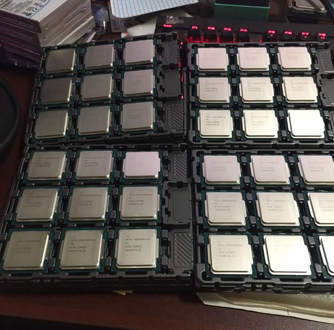 Chưa được công bố, thế nhưng CPU Intel thế hệ 10 Comet Lake đã được bày bán trên Taobao - Ảnh 1.