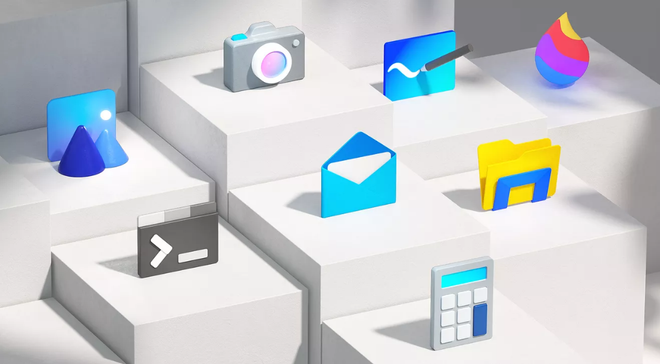 Áp dụng nguyên tắc thiết kế mới, hàng loạt biểu tượng ứng dụng trên Windows 10 có được màu sắc mới - Ảnh 1.