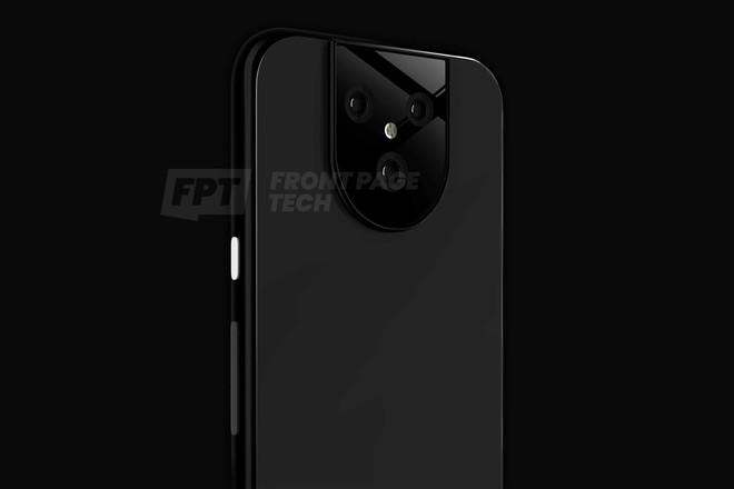 Pixel 5 lộ diện với cụm 3 camera sau cực dị - Ảnh 2.