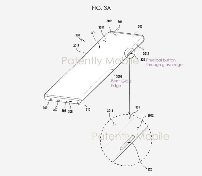 Bằng sáng chế của Samsung tiết lộ Galaxy Note 20 sẽ có màn hình siêu cong, nhưng vẫn có nút vật lý ở cạnh bên - Ảnh 2.