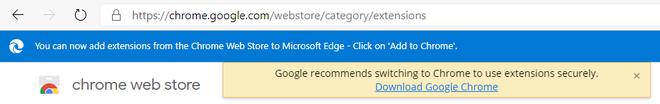 Google cảnh báo người dùng không nên sử dụng trình duyệt Edge mới của Microsoft, vì lý do an toàn - Ảnh 2.