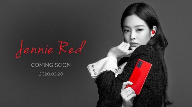 Samsung ra mắt Galaxy S20 màu đỏ dành riêng cho fan của Jennie (Blackpink) - Ảnh 1.