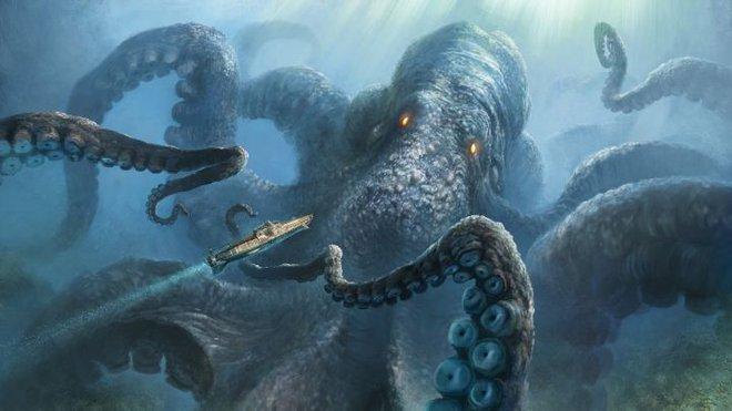 Quỷ khổng lồ Biển Bắc: Sinh vật có cùng kích thước với cá voi xanh có thể thực sự tồn tại ? - Ảnh 1.