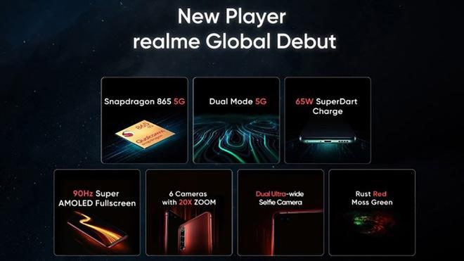 Realme X50 Pro ra mắt: Có chip Snapdragon 865, có RAM 12GB, có 5G, có sạc nhanh 65W, mà giá chỉ 600 USD - Ảnh 5.