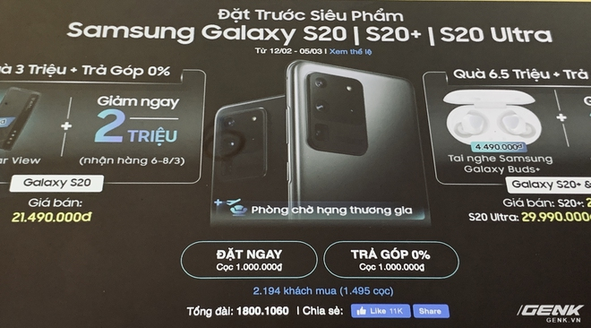 [Cập nhật: Phản hồi từ Samsung] Doanh số không đạt kỳ vọng, Samsung giảm giá Galaxy S20 tại VN dù máy chưa bán ra - Ảnh 5.