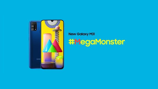 Galaxy M31 ra mắt: 4 camera 64MP, pin 6000mAh, giá từ 4.9 triệu đồng - Ảnh 1.