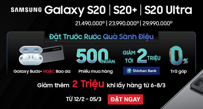 [Cập nhật: Phản hồi từ Samsung] Doanh số không đạt kỳ vọng, Samsung giảm giá Galaxy S20 tại VN dù máy chưa bán ra - Ảnh 3.