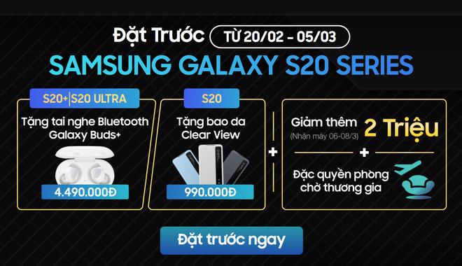 [Cập nhật: Phản hồi từ Samsung] Doanh số không đạt kỳ vọng, Samsung giảm giá Galaxy S20 tại VN dù máy chưa bán ra - Ảnh 2.