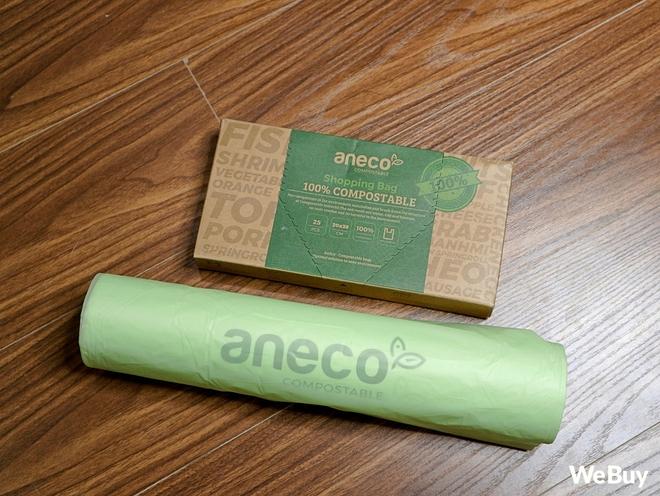 Dùng thử túi nilon AnEco: Made in Việt Nam, làm từ nhựa sinh học, phân hủy 100% thành mùn nuôi cây, nước và CO2 - Ảnh 1.