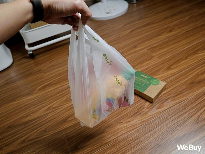 Dùng thử túi nilon AnEco: Made in Việt Nam, làm từ nhựa sinh học, phân hủy 100% thành mùn nuôi cây, nước và CO2 - Ảnh 3.