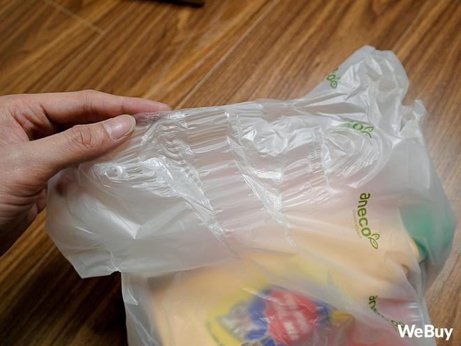Dùng thử túi nilon AnEco: Made in Việt Nam, làm từ nhựa sinh học, phân hủy 100% thành mùn nuôi cây, nước và CO2 - Ảnh 4.