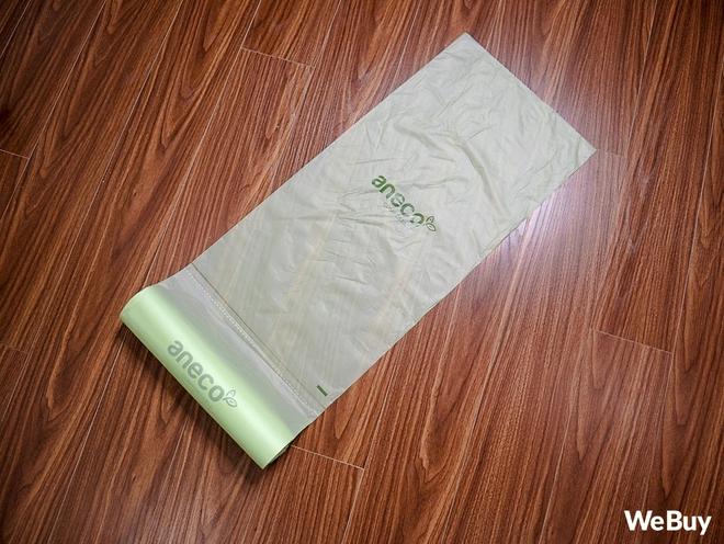 Dùng thử túi nilon AnEco: Made in Việt Nam, làm từ nhựa sinh học, phân hủy 100% thành mùn nuôi cây, nước và CO2 - Ảnh 6.