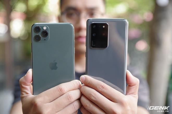 Galaxy S20 Ultra quyết đấu iPhone 11 Pro Max: ai hơn ai thua trong cuộc đua trải nghiệm? - Ảnh 1.