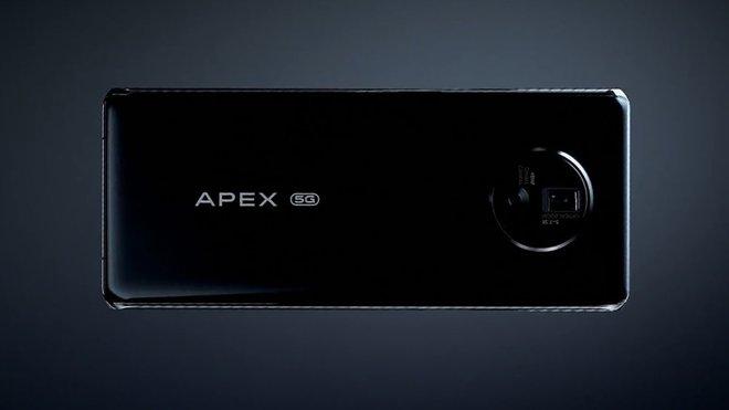 Vivo Apex 2020 ra mắt: Camera selfie ẩn dưới màn hình, chống rung gimbal mới, sạc nhanh không dây 60W - Ảnh 1.