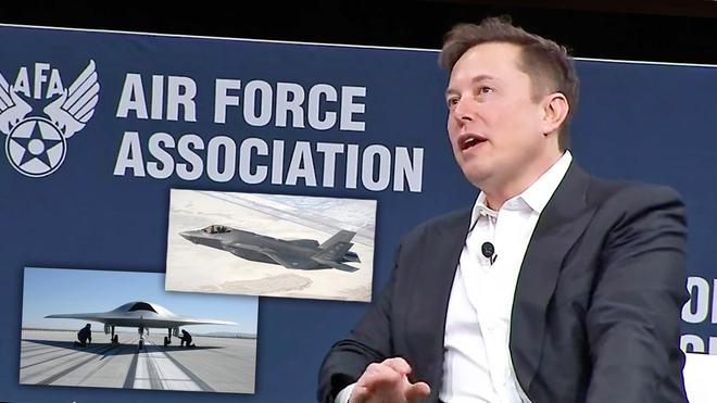Chán chỉ trích các tỷ phú, giờ đến lượt cả Không quân Mỹ cũng bị Elon Musk cà khịa: Thời đại của các chiến đấu cơ phản lực qua rồi - Ảnh 1.