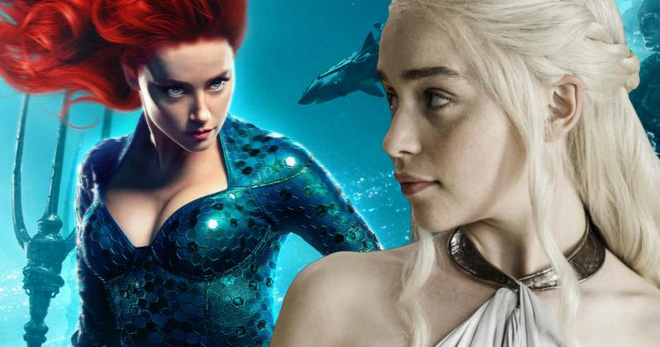 Fan kiến nghị Mẹ Rồng thay Amber Heard trong Aquaman, tạo cơ hội cho Khaleesi đoàn tụ với Khal Drogo - Ảnh 1.