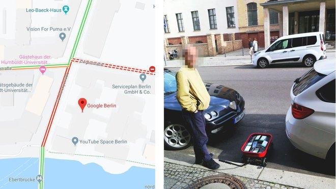 Anh họa sĩ ung dung kéo 99 chiếc smartphone đi dạo phố để tạo ra tình trạng tắc đường giả trên Google Maps - Ảnh 2.
