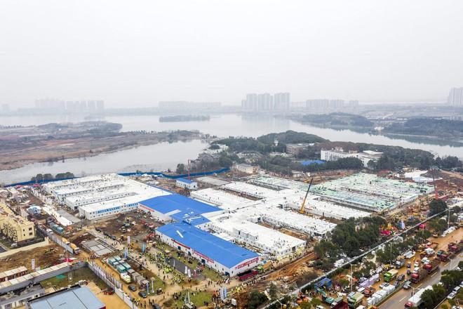 Bên trong bệnh viện dã chiến được Trung Quốc xây thần tốc trong 10 ngày để đối phó virus Vũ Hán - Ảnh 11.