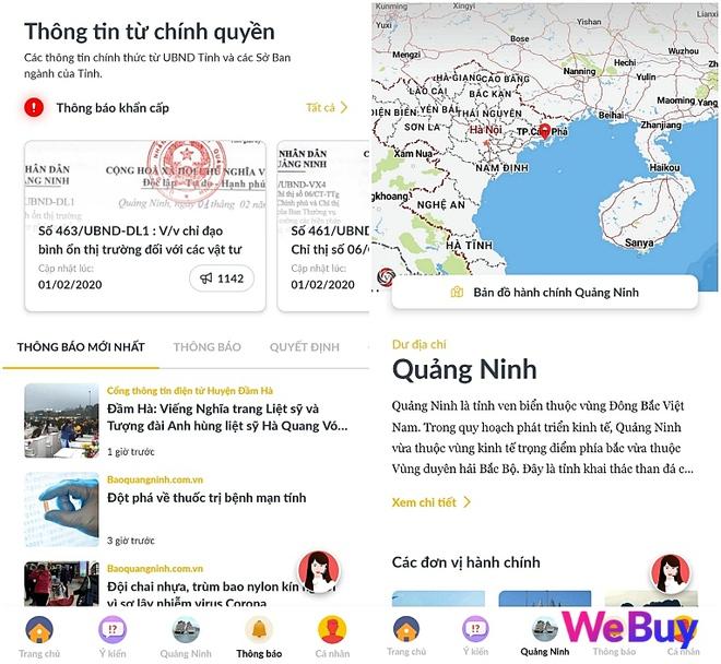 Trải nghiệm ứng dụng Smart Quảng Ninh: Cập nhật thông tin virus corona liên tục, hàng loạt tính năng thiết thực cho người dân, có cả trợ lý ảo tiếng Việt - Ảnh 3.