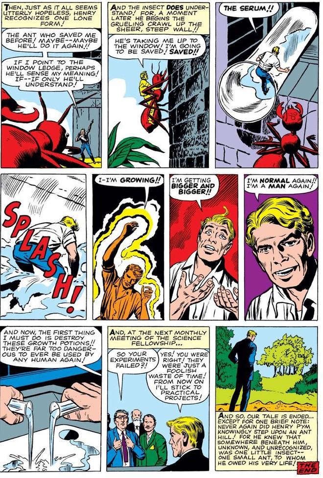 Trước khi có kiến cánh để cưỡi, Ant-Man đã phải dùng tới ... dây chun để bay trong không khí - Ảnh 2.