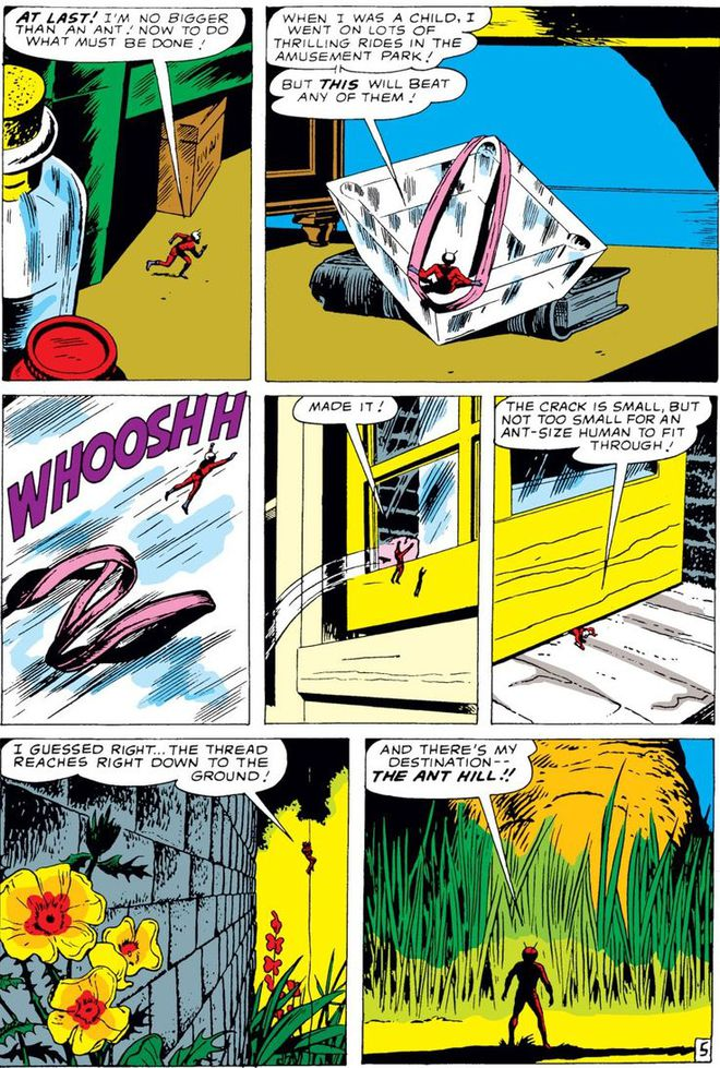 Trước khi có kiến cánh để cưỡi, Ant-Man đã phải dùng tới ... dây chun để bay trong không khí - Ảnh 3.