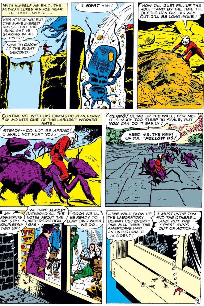 Trước khi có kiến cánh để cưỡi, Ant-Man đã phải dùng tới ... dây chun để bay trong không khí - Ảnh 4.