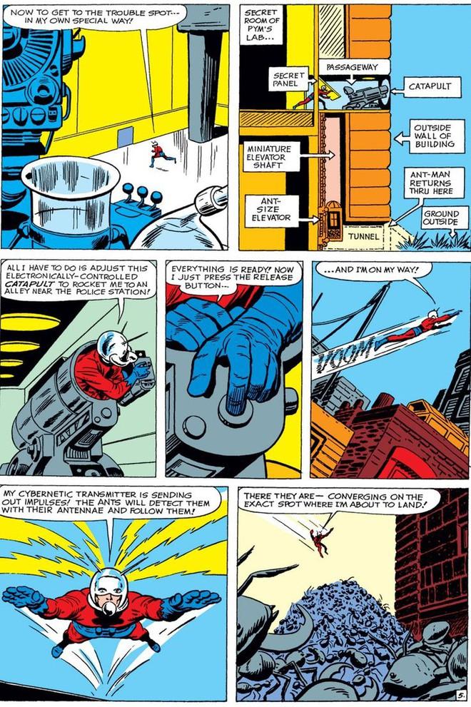 Trước khi có kiến cánh để cưỡi, Ant-Man đã phải dùng tới ... dây chun để bay trong không khí - Ảnh 5.