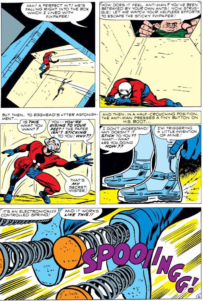 Trước khi có kiến cánh để cưỡi, Ant-Man đã phải dùng tới ... dây chun để bay trong không khí - Ảnh 7.