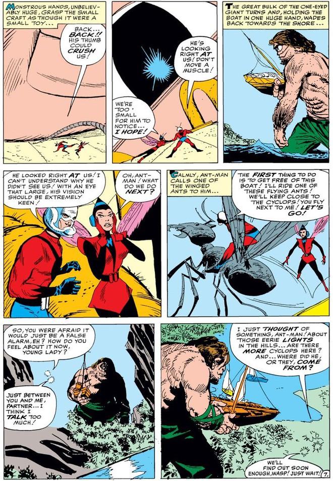 Trước khi có kiến cánh để cưỡi, Ant-Man đã phải dùng tới ... dây chun để bay trong không khí - Ảnh 9.