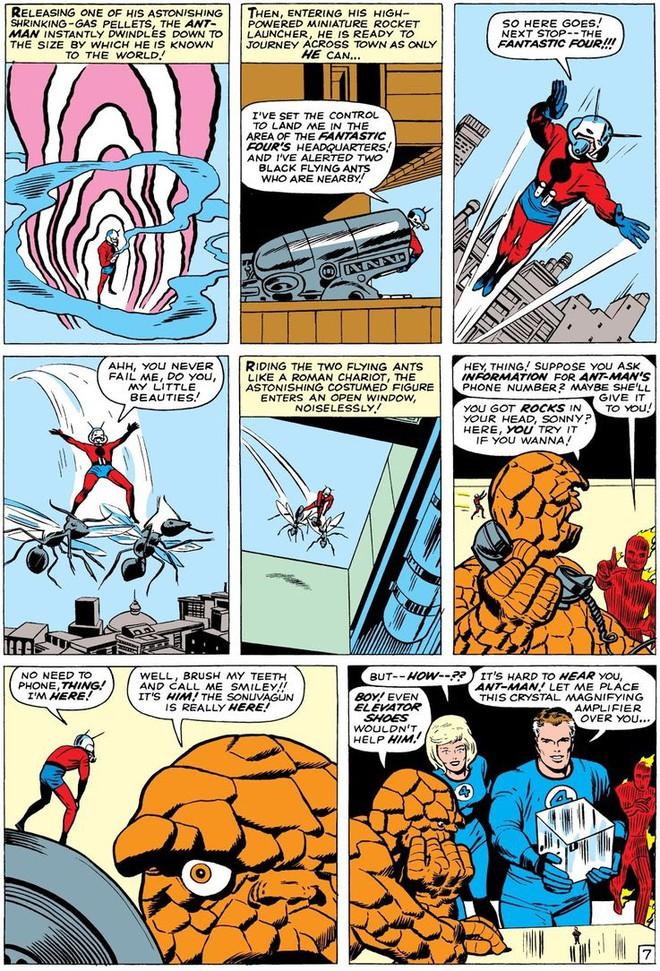 Trước khi có kiến cánh để cưỡi, Ant-Man đã phải dùng tới ... dây chun để bay trong không khí - Ảnh 10.