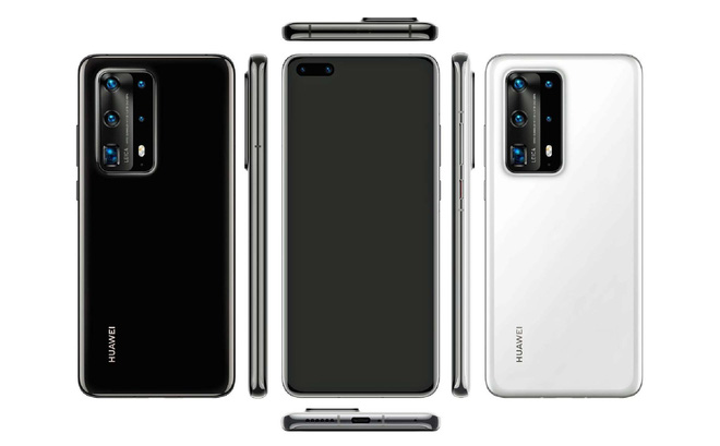 Huawei P40 Pro lộ ảnh thực tế: Màn hình tràn cạnh, thiết kế đục lỗ, viền bezel siêu mỏng - Ảnh 2.