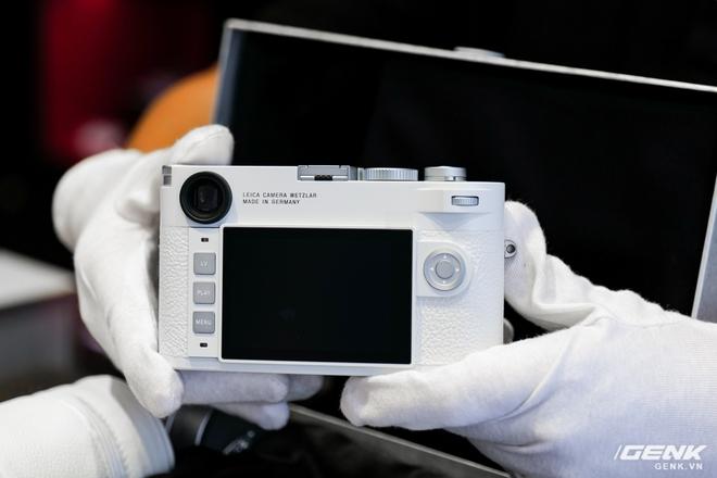 Cận cảnh Leica M10-P White Limited Edition: Chỉ có 350 chiếc được sản xuất, giá 420 triệu đồng tại Việt Nam - Ảnh 8.