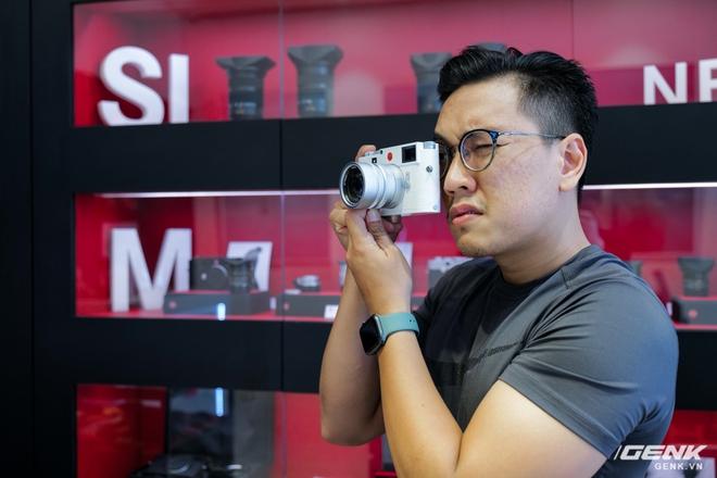 Cận cảnh Leica M10-P White Limited Edition: Chỉ có 350 chiếc được sản xuất, giá 420 triệu đồng tại Việt Nam - Ảnh 16.