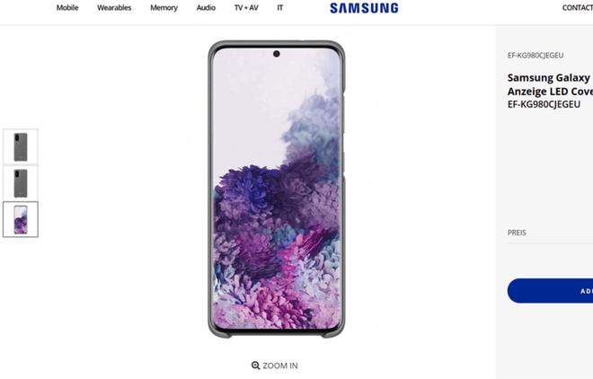 Samsung vừa để lộ hình ảnh của Galaxy S20 sắp ra mắt - Ảnh 1.